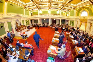 Philadelphia City Council first session of 2012