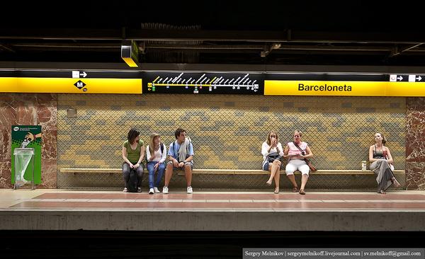 В Іспаніі контролерів метро змушували особливо ретельно переверяти квитки у геїв та жебраків