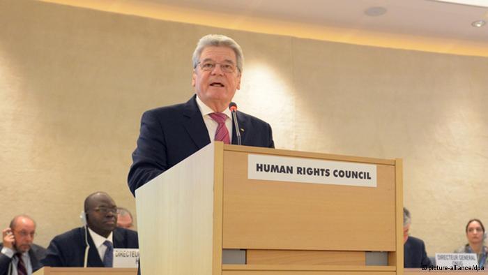 Президент Германии: права гомосексуалов универсальны