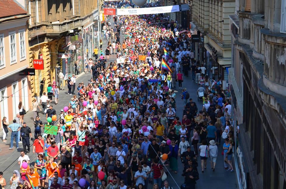 ЛГБТ-Прайд в Загребе собрал 15 000 человек