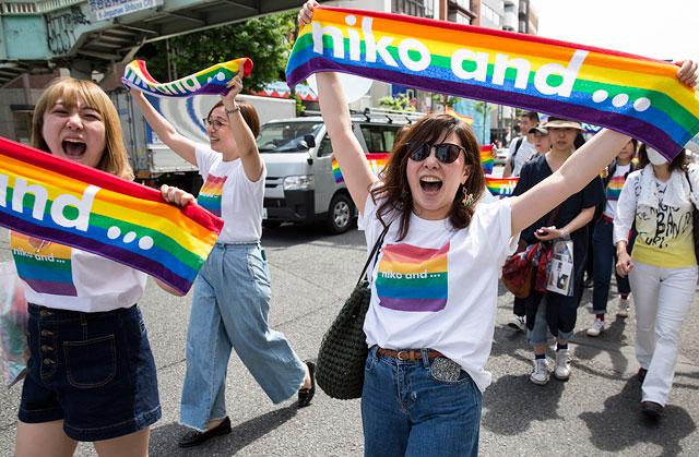 Прайд неделя в Токио завершилась масштабным шествием