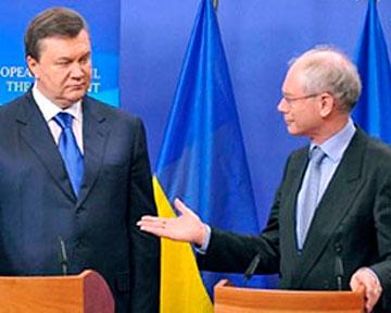 Миссия Евросоюза заявляет, что антидискриминационный закон, предложенный Азаровым, не включает рекомендации Евросоюза