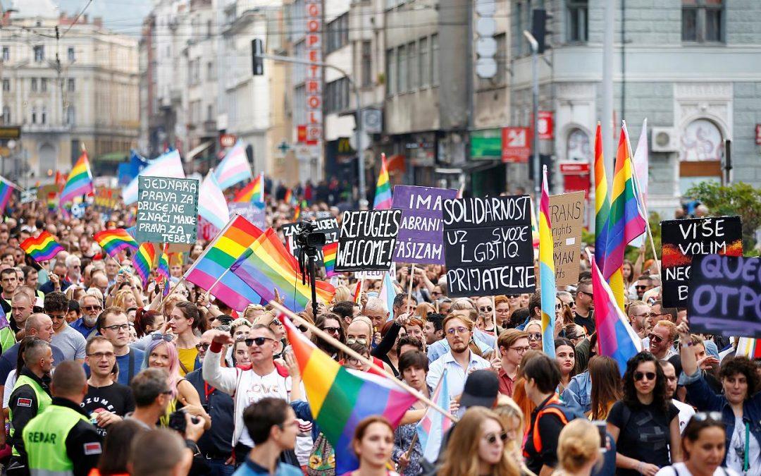 У Боснії і Герцеговині пройшов марш на підтримку рівних прав для ЛГБТ-людей