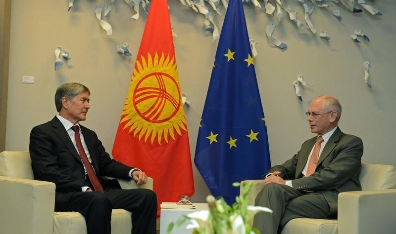 """В ЕС поняли позицию президента Кыргызстана относительно законов о """"пропаганде"""" и иностранных агентах"""