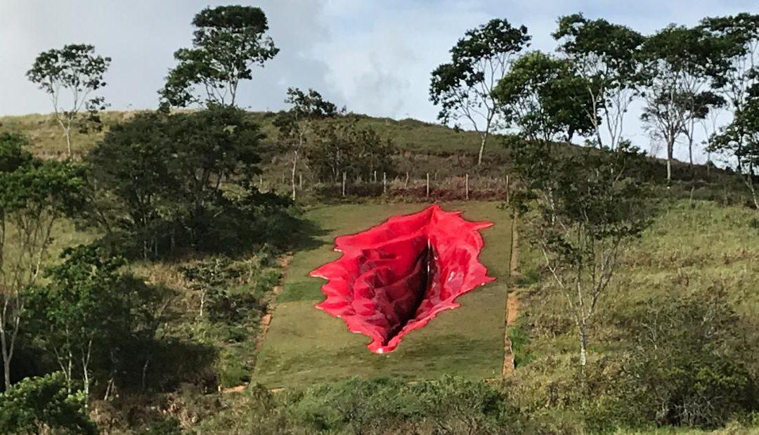 У Бразилії створили скульптуру вагіни на підтримку гендерної рівності у суспільстві