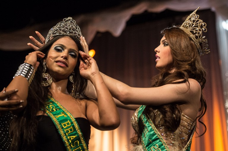 У Бразилії пройшов конкурс краси серед трансґендерок