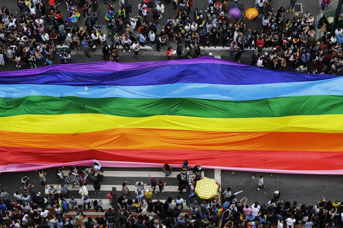 В Сан-Паулу прошел крупнейший в мире ЛГБТ-прайд