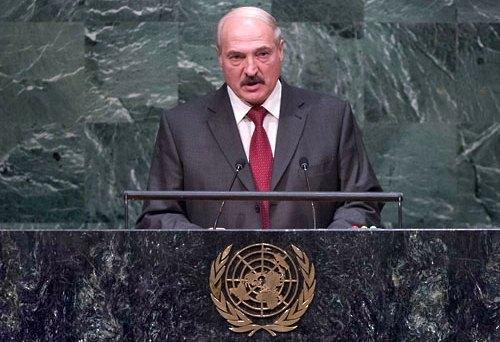 Лукашенко в ООН висловився проти ЛГБТ-родин