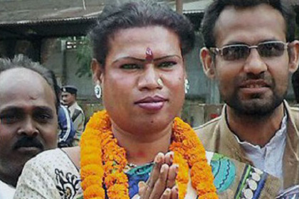 В Индии впервые мэром избрали трансгендерную женщину