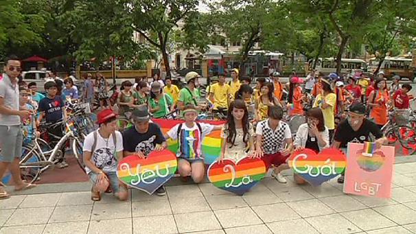 Вьетнам: велосипедный пробег в защиту прав ЛГБТ