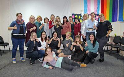 «Прокачати» толерантність: освітяни з усієї України долучилися до тренінгу з питань СОГІ