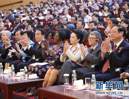 Китай розраховує на активну співпрацю з Біллом Гейтсом у боротбі з ВІЛ