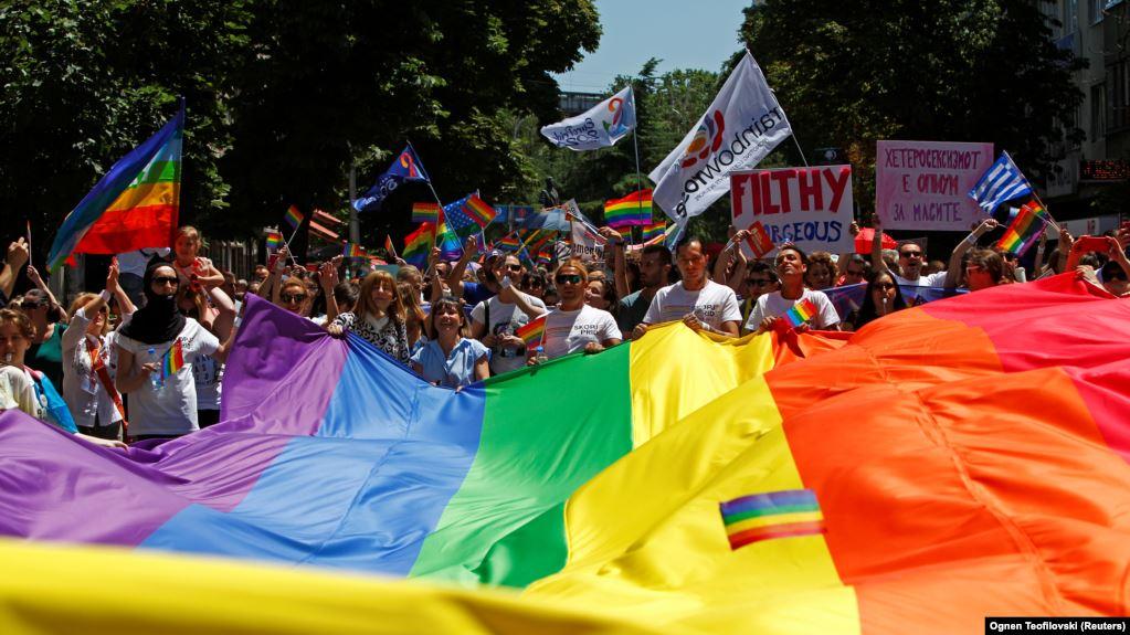 У Північній Македонії пройшов перший гей-парад