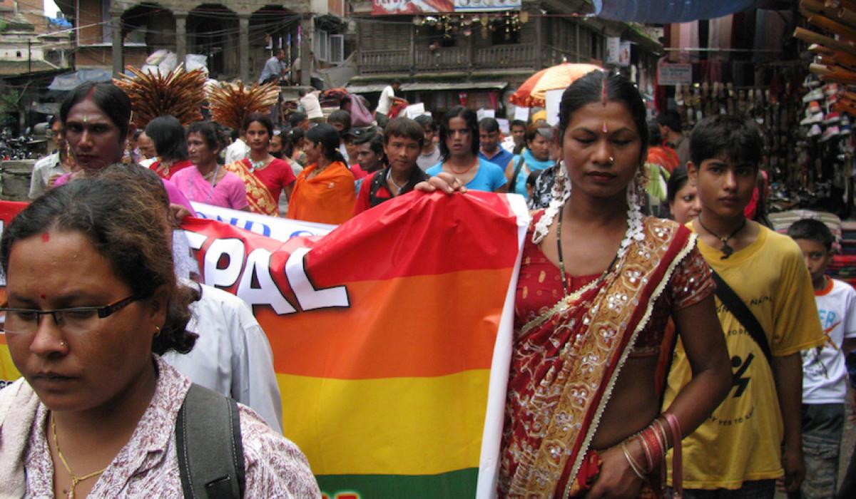 У Непалі на ЛГБТ марш вийшло близько тисячі осіб