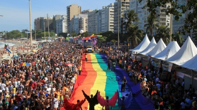 Гей-парад у Ріо-де-Жанейро зібрав понад 300 тисяч учасників