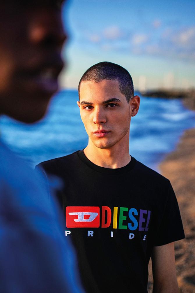 Diesel выпустили коллекцию к ЛГБТК-прайду
