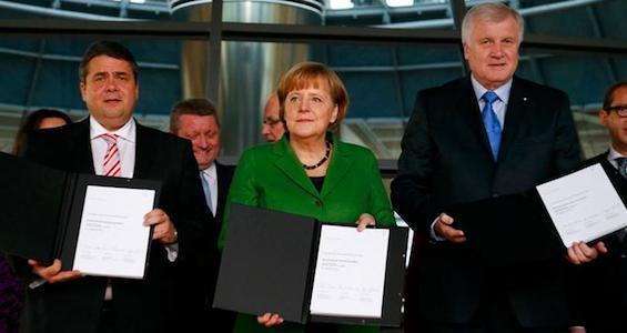 Соглашение о правящей коалиции в Германии обошло стороной вопрос легализации однополых браков