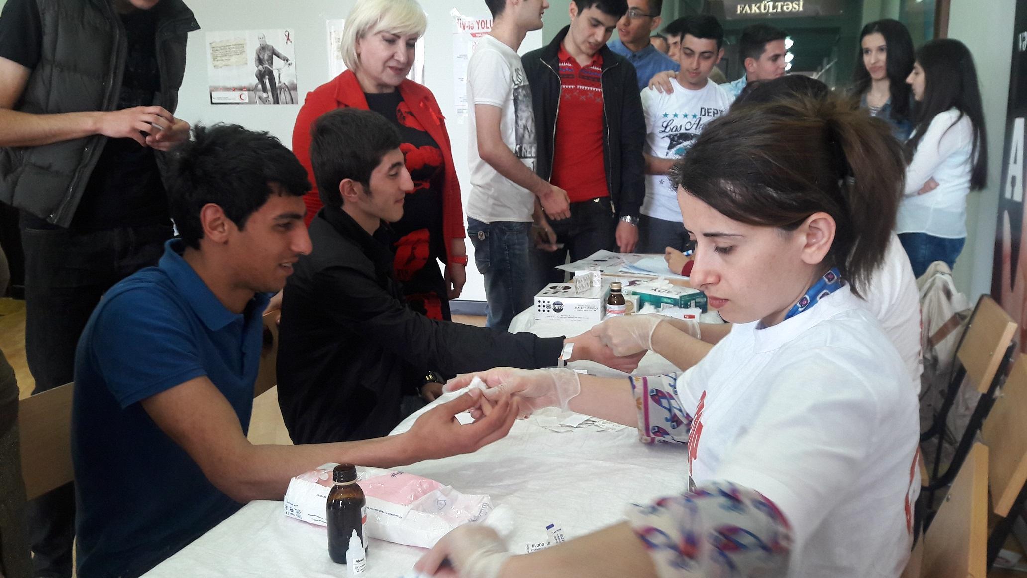 В Азербайджане пройдут массовые акции тестирования и консультирования на ВИЧ