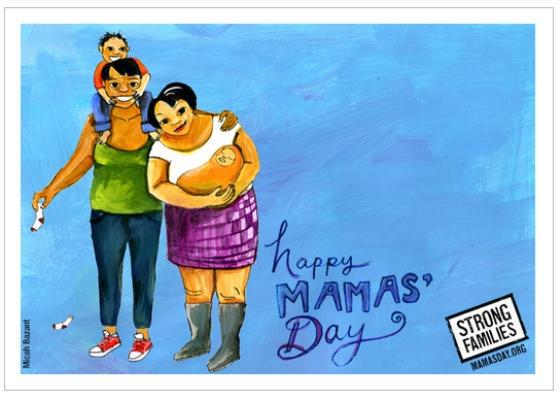 В США выпустили ЛГБТ-открытки ко Дню матери