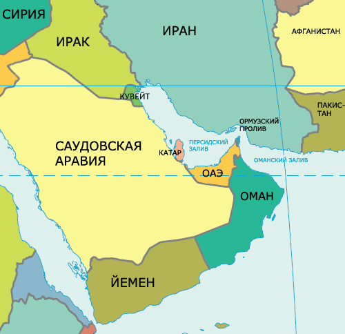 Правительство Кувейта хочет не пускать в страну гомосексуалов, выявленных по собственному гей-тесту