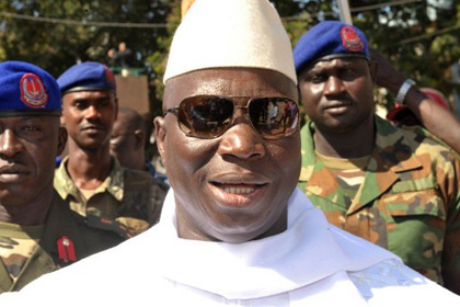 Президент Гамбии назвал геев паразитами