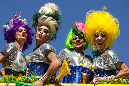 Крупнейший в мире гей-парад прошел в Бразилии
