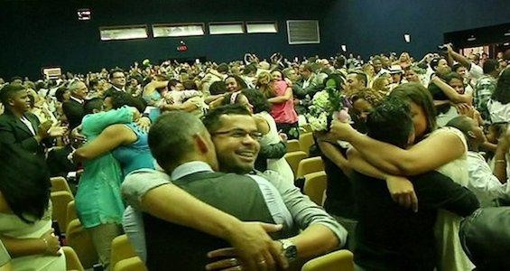 В Рио-де-Жанейро прошла самая массовая акция по заключению однополых браков