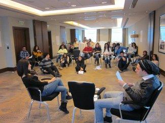 В Азербайджане продолжается дискуссия с молодежью о ВИЧ/СПИД и гендере