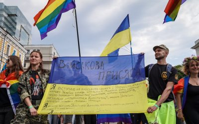"LGBTQ* soldiers in the Ukrainian military: ""We destroyed the myths"""